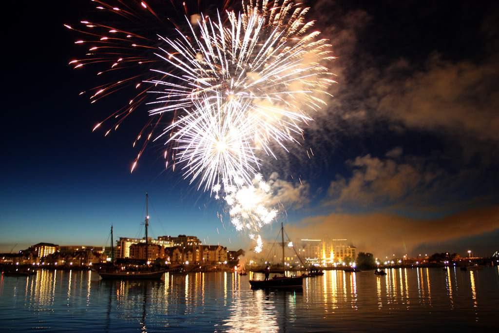 Fireworks Victoria BC