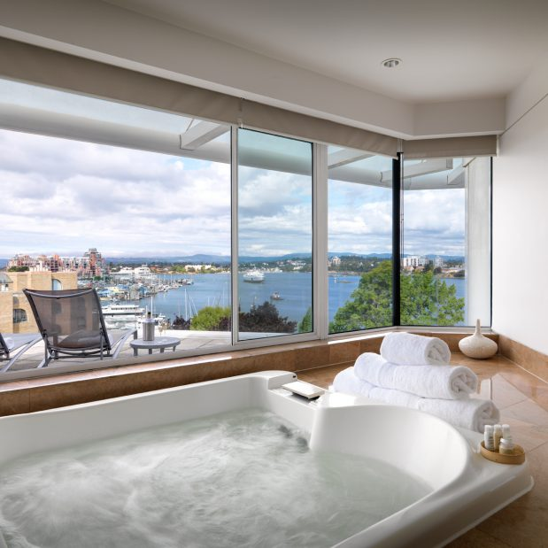 Luxury Dream Suite View from in room Jetted Tub