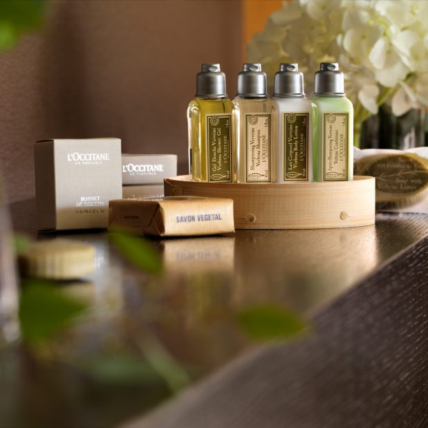 L'Occitane en Provence suite bath amenities