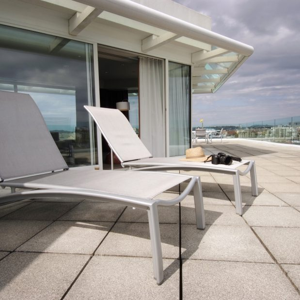 Luxury Two Level Penthouse Hotel Suite Patio