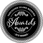 Vancouver island Wedding Awards 2018 Winner