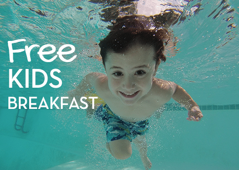 Free Kids Breakfast Inn at Laurel Point