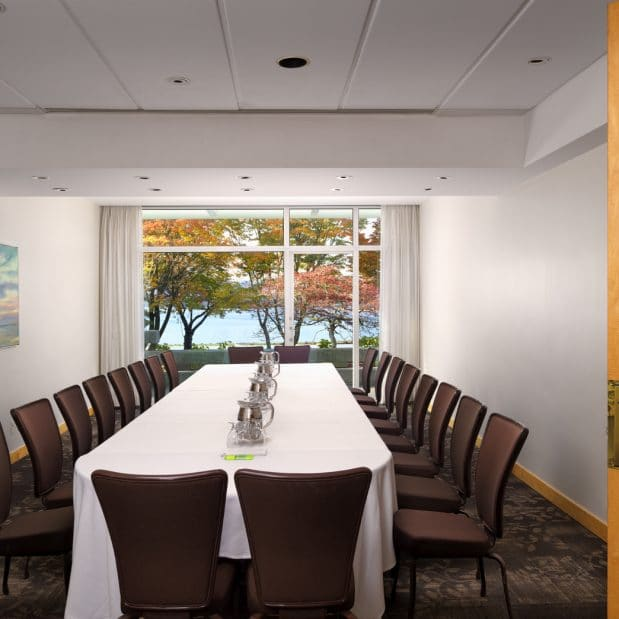 Stone Meeting Room Inn at Laurel Point