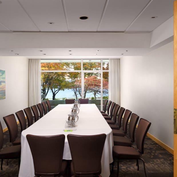 Stone Meeting Room Inn at Laurel Point