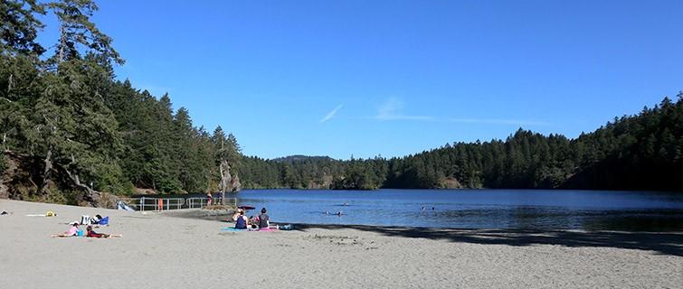 Thetis Lake Top 5 Beaches Victoria BC