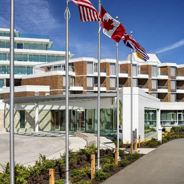 Inn at Laurel Point Victoria BC Exterior
