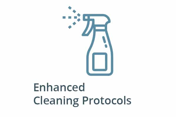 Commitment to Care Enhanced Cleaning Protocols Inn at Laurel Point