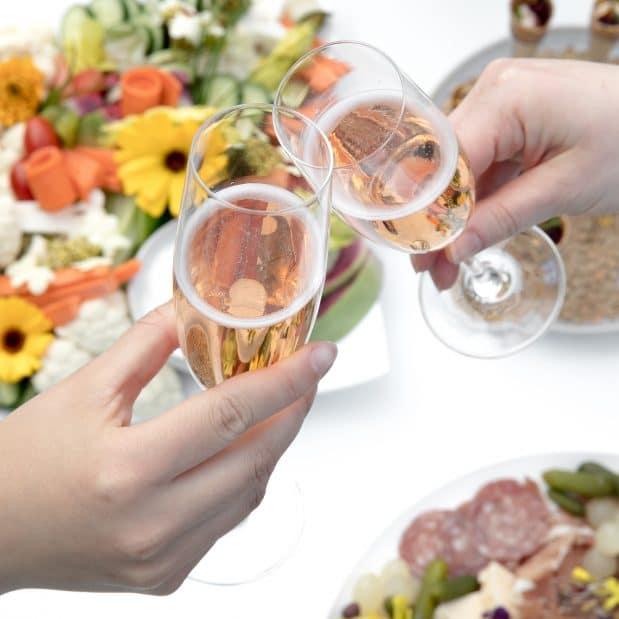 Wedding Reception Kitchen Garden Inn at Laurel Point