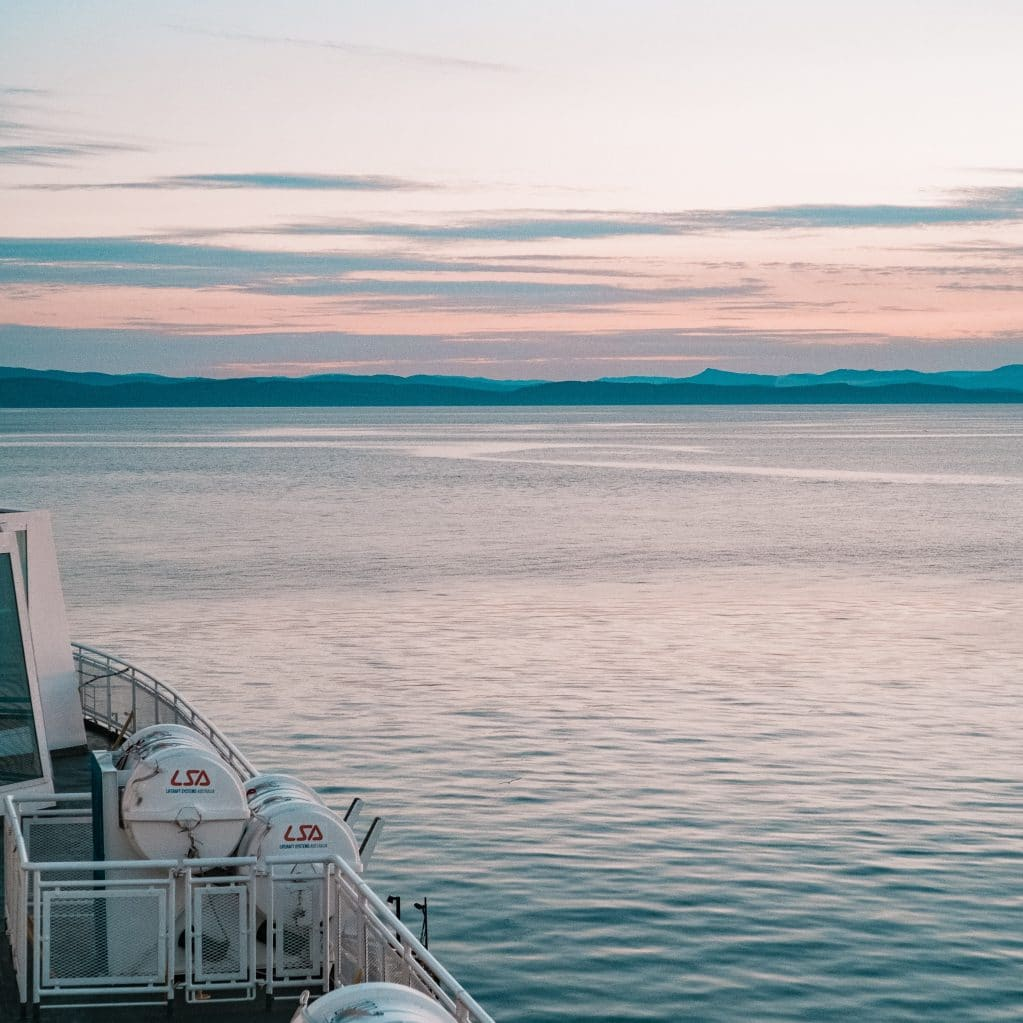 Sunset View from BC Ferries Marie-Michèle Bouchard